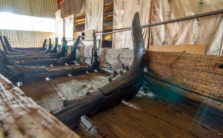 На Хортице реставраторы восстанавливают древние суда, - ФОТОРЕПОРТАЖ, фото-8