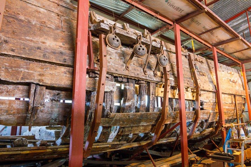 На Хортице реставраторы восстанавливают древние суда, - ФОТОРЕПОРТАЖ, фото-21
