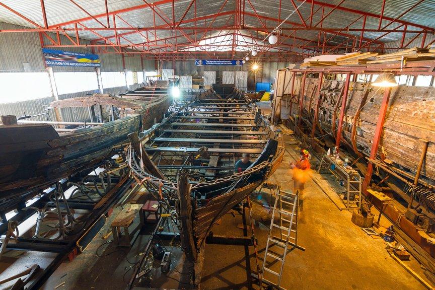 На Хортице реставраторы восстанавливают древние суда, - ФОТОРЕПОРТАЖ, фото-23