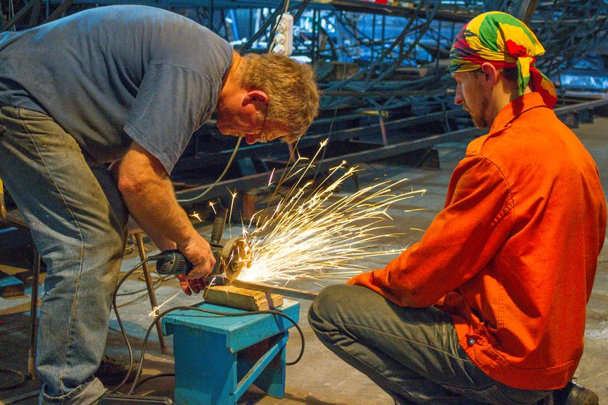 На Хортице реставраторы восстанавливают древние суда, - ФОТОРЕПОРТАЖ, фото-9