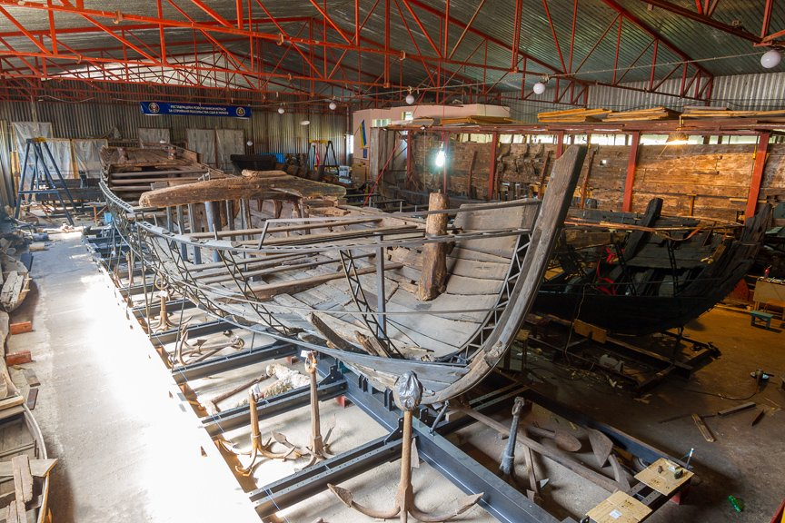 На Хортице реставраторы восстанавливают древние суда, - ФОТОРЕПОРТАЖ, фото-16