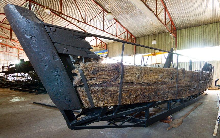На Хортице реставраторы восстанавливают древние суда, - ФОТОРЕПОРТАЖ, фото-4
