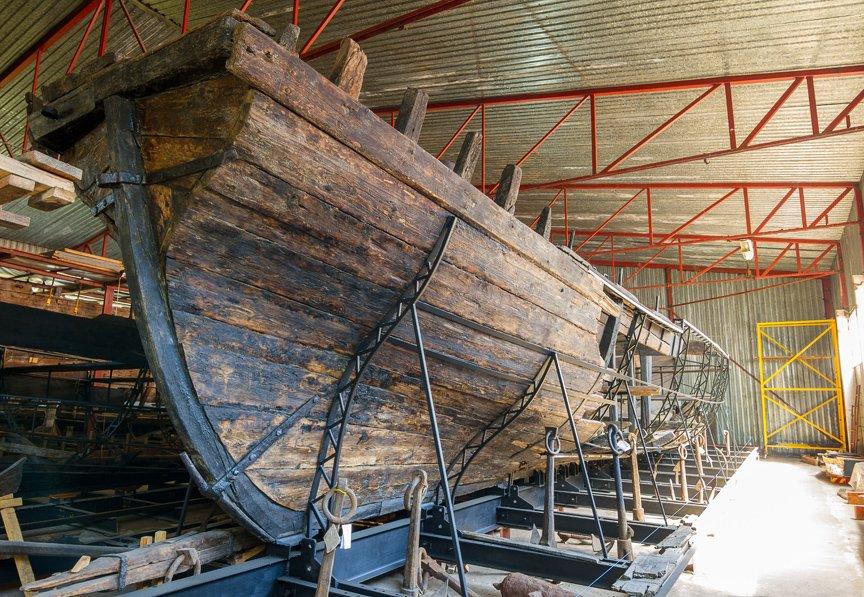 На Хортице реставраторы восстанавливают древние суда, - ФОТОРЕПОРТАЖ, фото-11