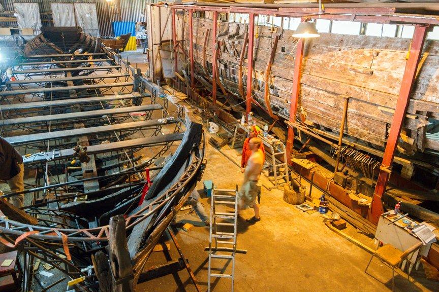 На Хортице реставраторы восстанавливают древние суда, - ФОТОРЕПОРТАЖ, фото-24