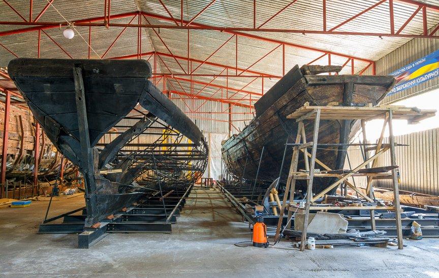 На Хортице реставраторы восстанавливают древние суда, - ФОТОРЕПОРТАЖ, фото-6