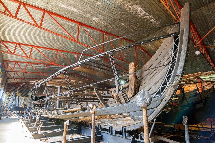 На Хортице реставраторы восстанавливают древние суда, - ФОТОРЕПОРТАЖ, фото-14