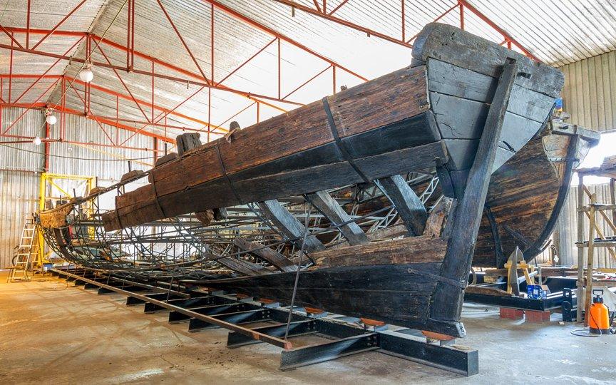 На Хортице реставраторы восстанавливают древние суда, - ФОТОРЕПОРТАЖ, фото-5