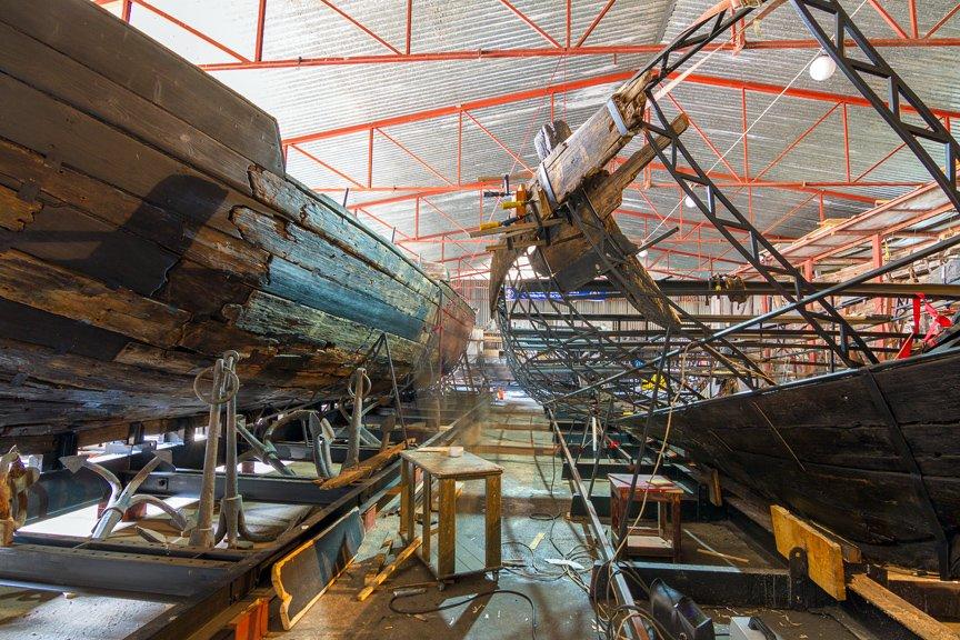 На Хортице реставраторы восстанавливают древние суда, - ФОТОРЕПОРТАЖ, фото-15