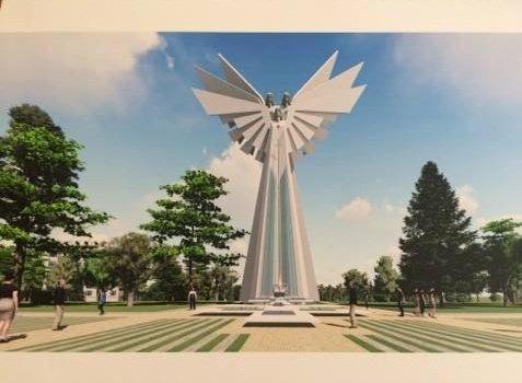 Літак на Східному таки демонтують, замість нього хочуть встановити янголів (Фото), фото-1