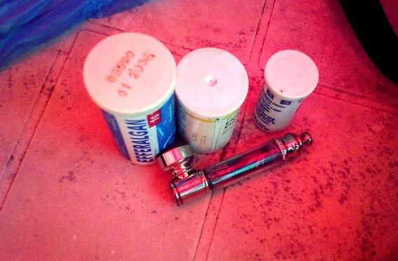 У сумчанина нашли оружие и наркотики (ФОТО), фото-5
