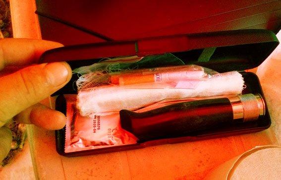 У сумчанина нашли оружие и наркотики (ФОТО), фото-4