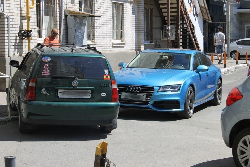 Парковка по-ростовски: ни себе, ни людям, фото-1