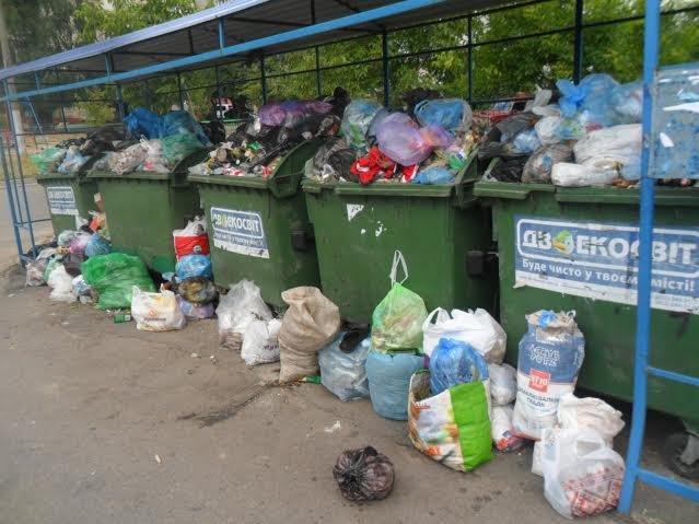 Львів'яни знову скаржаться на переповнені смітники (ФОТО), фото-4
