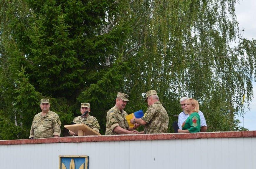 Закриття навчань загонів територіальної оборони Новоград-Волинського району, фото-1
