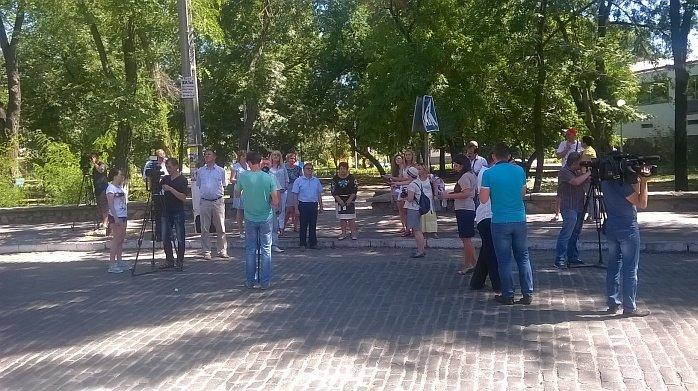Бердянск принимает журналистов центральных телеканалов как финалист проекта «7 чудес Украины», фото-1