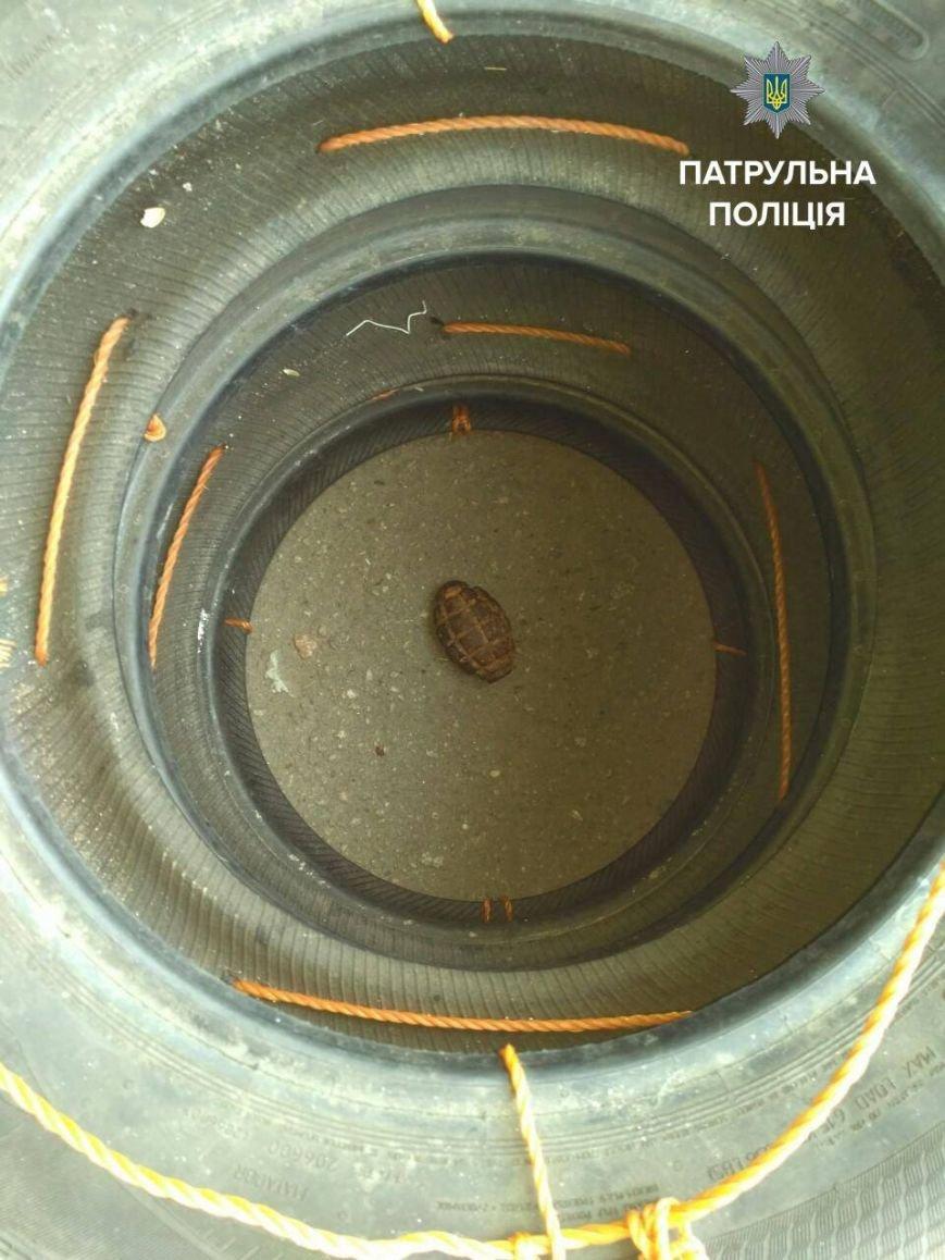 В спальном районе Запорожья нашли гранату (ФОТОФАКТ), фото-1