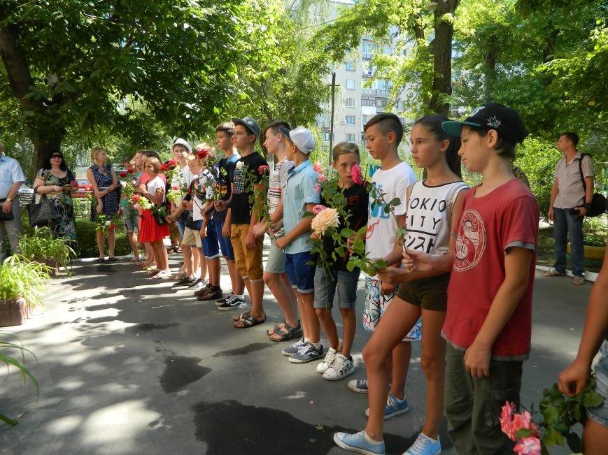 В Черноморске прошла траурная церемония памяти Виталия Шума (фото), фото-1