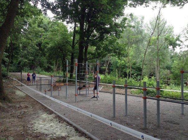 У Парку культури відкрили спортивний майданчик для воркауту (ФОТО), фото-2