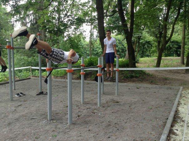 У Парку культури відкрили спортивний майданчик для воркауту (ФОТО), фото-6