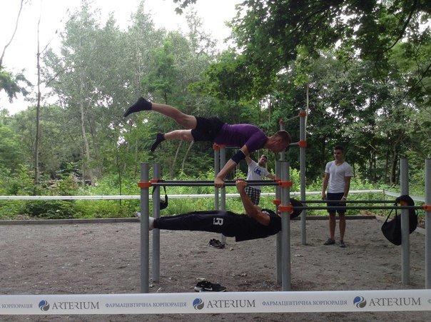 У Парку культури відкрили спортивний майданчик для воркауту (ФОТО), фото-4