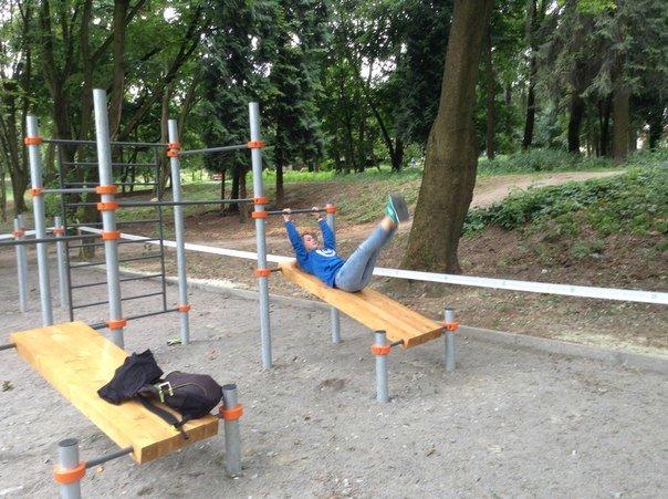 У Парку культури відкрили спортивний майданчик для воркауту (ФОТО), фото-3