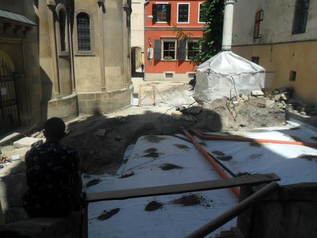 У Вірменському дворику консервують історичні склепіння (ФОТО), фото-5