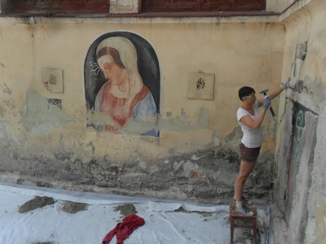 У Вірменському дворику консервують історичні склепіння (ФОТО), фото-1
