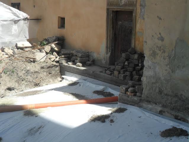 У Вірменському дворику консервують історичні склепіння (ФОТО), фото-3