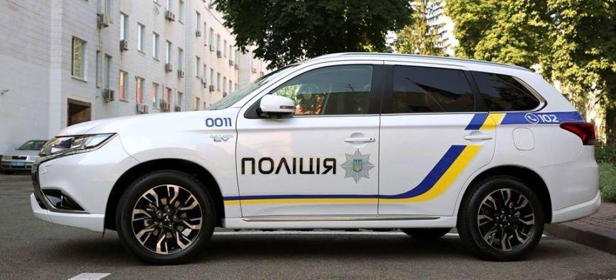 Запорожская полиция будет ездить на Mitsubishi Outlander, - ФОТО, фото-1