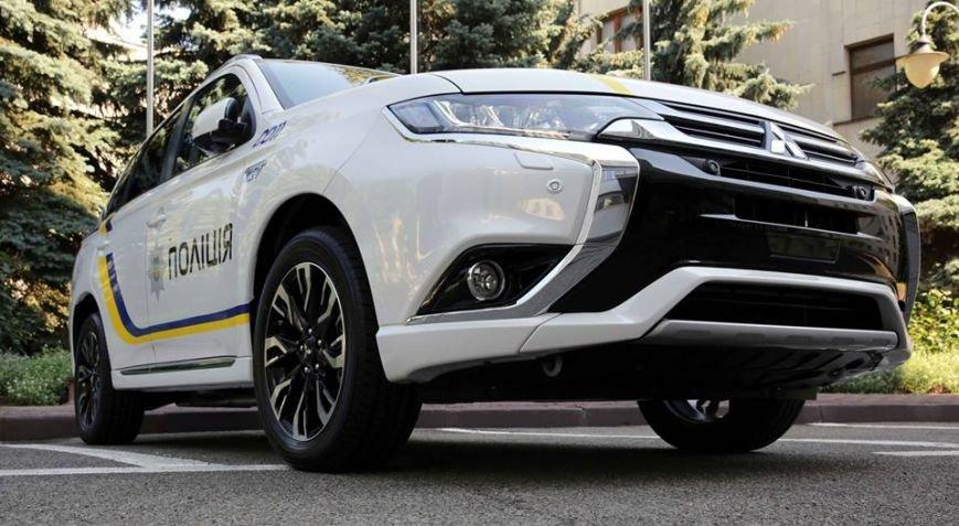 Запорожская полиция будет ездить на Mitsubishi Outlander, - ФОТО, фото-2
