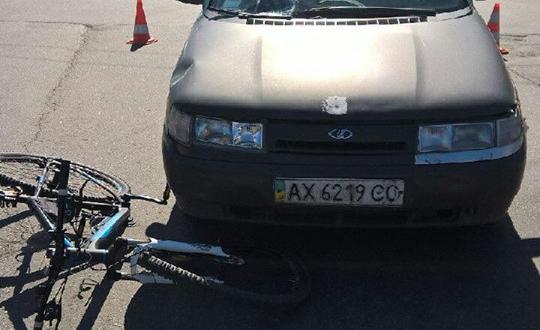 На Героев Труда таксист сбил велосипедиста: у пострадавшего травма позвоночника (ФОТО), фото-2