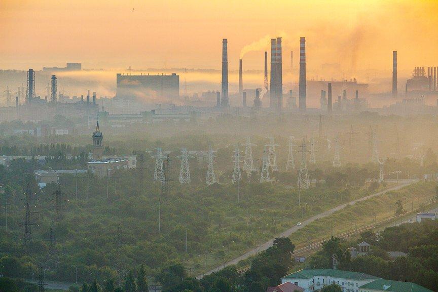 """""""Высокое Запорожье"""": вид с самого высокого крана Украины, - эксклюзивные фото, фото-3"""