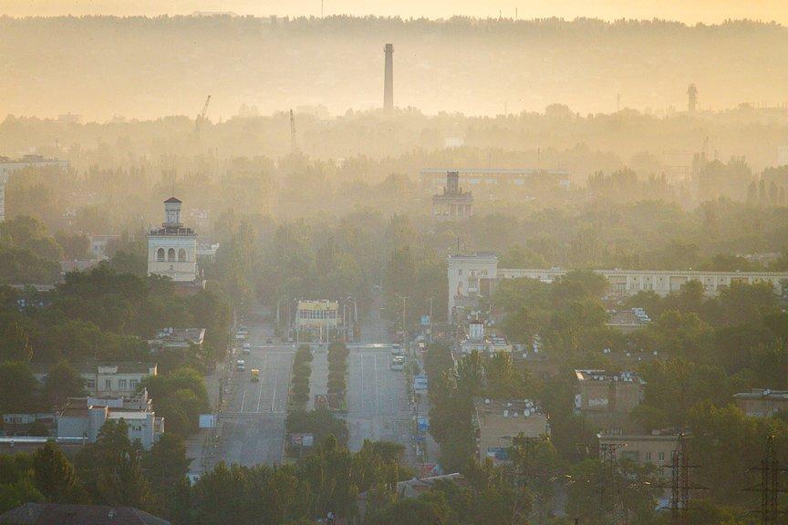 """""""Высокое Запорожье"""": вид с самого высокого крана Украины, - эксклюзивные фото, фото-7"""