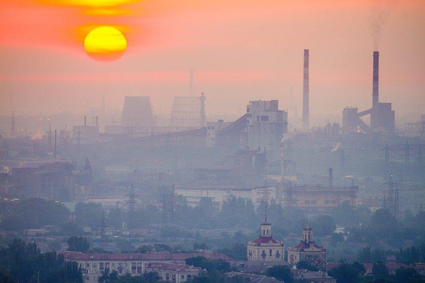 """""""Высокое Запорожье"""": вид с самого высокого крана Украины, - эксклюзивные фото, фото-9"""