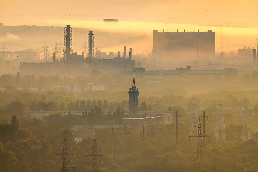 """""""Высокое Запорожье"""": вид с самого высокого крана Украины, - эксклюзивные фото, фото-17"""
