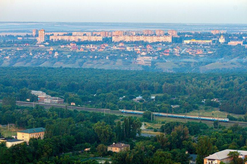 """""""Высокое Запорожье"""": вид с самого высокого крана Украины, - эксклюзивные фото, фото-11"""