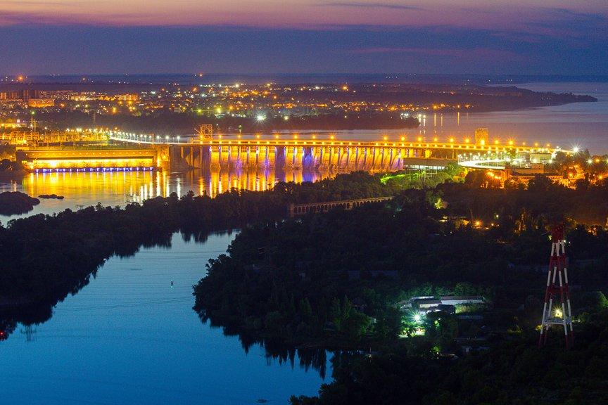 """""""Высокое Запорожье"""": как выглядит ночной город с высоты в 180 метров, - эксклюзивные фото, фото-7"""