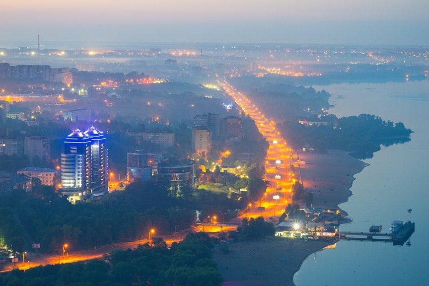 """""""Высокое Запорожье"""": как выглядит ночной город с высоты в 180 метров, - эксклюзивные фото, фото-18"""