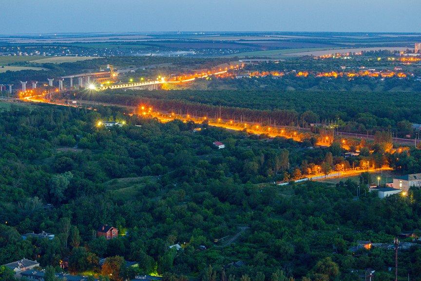 """""""Высокое Запорожье"""": как выглядит ночной город с высоты в 180 метров, - эксклюзивные фото, фото-5"""