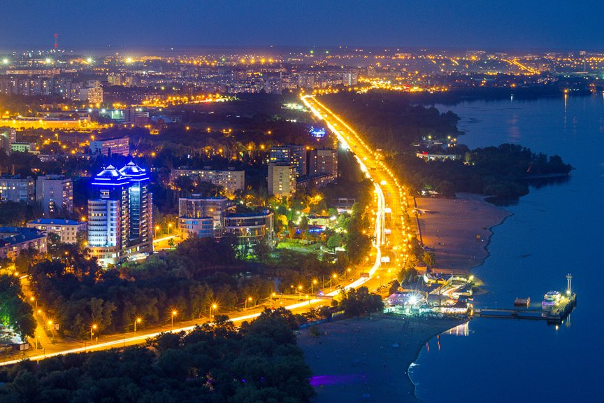 """""""Высокое Запорожье"""": как выглядит ночной город с высоты в 180 метров, - эксклюзивные фото, фото-8"""