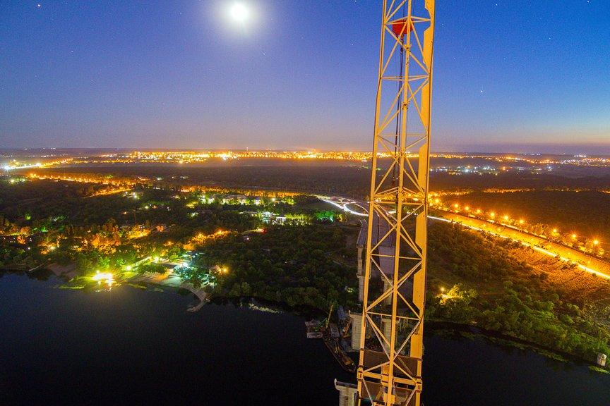 """""""Высокое Запорожье"""": как выглядит ночной город с высоты в 180 метров, - эксклюзивные фото, фото-13"""