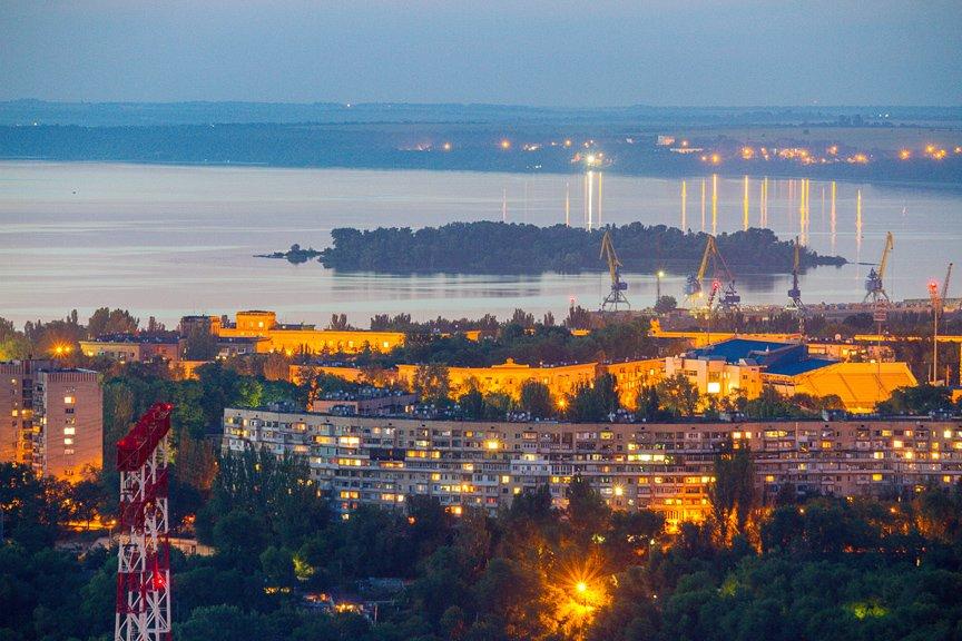 """""""Высокое Запорожье"""": как выглядит ночной город с высоты в 180 метров, - эксклюзивные фото, фото-12"""
