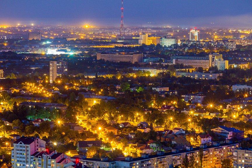 """""""Высокое Запорожье"""": как выглядит ночной город с высоты в 180 метров, - эксклюзивные фото, фото-6"""