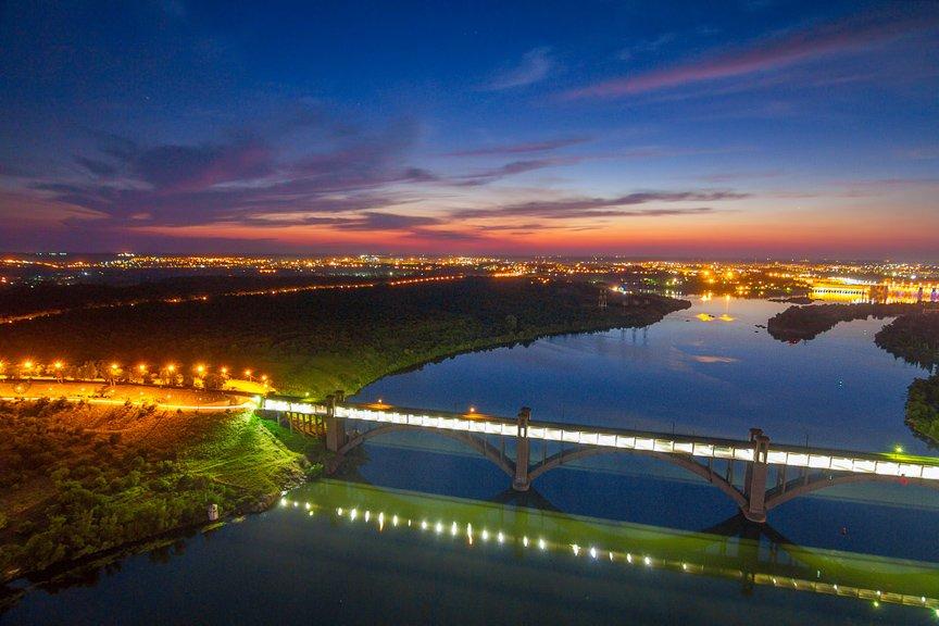 """""""Высокое Запорожье"""": как выглядит ночной город с высоты в 180 метров, - эксклюзивные фото, фото-14"""