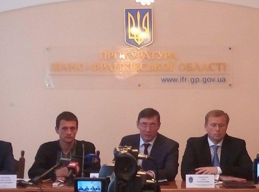 Луценко представив нового прокурора Івано-Франківщини і розкритикував очільників франківської поліції, фото-1