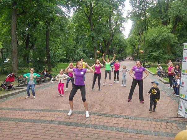 У парку імені Івана Франка відбувся фестиваль здоров'я «Живи Активно!» (ФОТО), фото-4