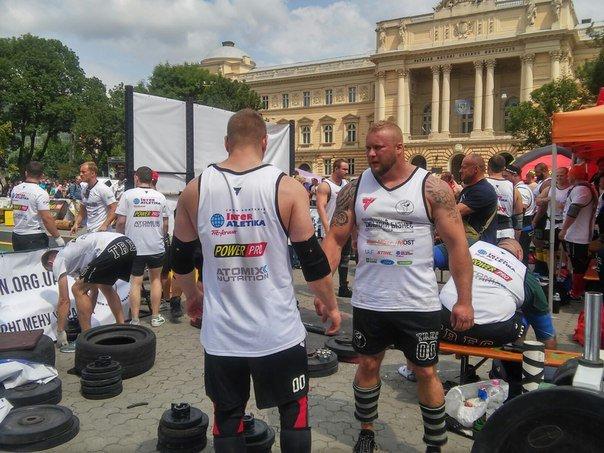 Сьогодні у Львові відбувся півфінал Чемпіонату світу із стронгмену (ФОТО), фото-1