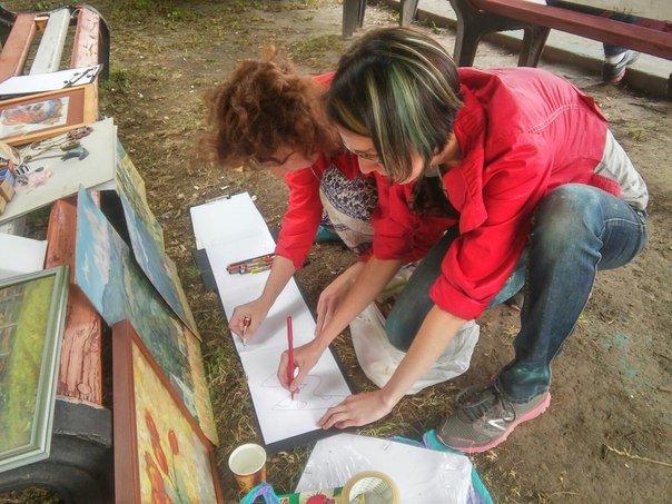 У Парку культури провели майстер-клас із живопису (ФОТО), фото-3