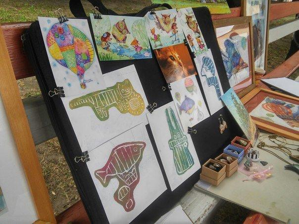 У Парку культури провели майстер-клас із живопису (ФОТО), фото-2
