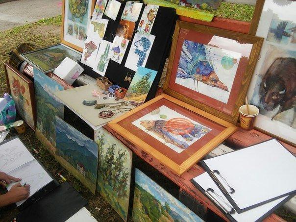 У Парку культури провели майстер-клас із живопису (ФОТО), фото-4